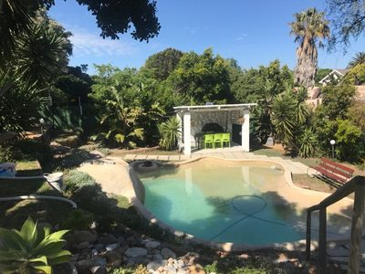 Beach Styled pool for self catering holiday accommodation in Cape  Town